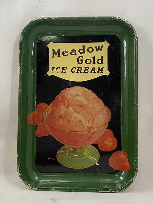 Meadow Gold Ice Cream Tin Tray