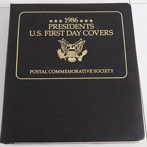 1980s Presidents U S First Day Covers - Postal Commemorative