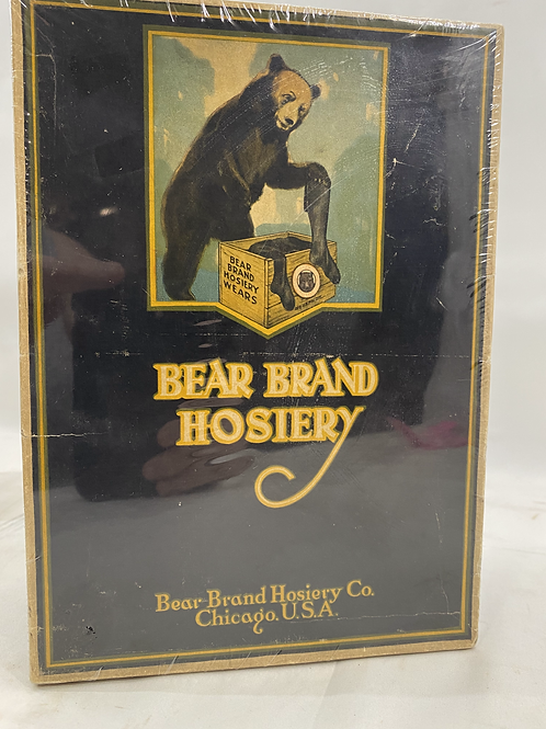 Bear Brand Hosiery Box with Samples