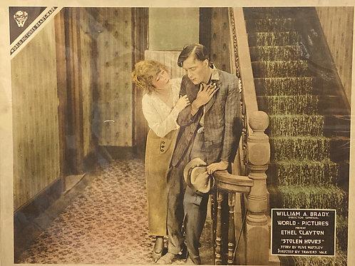 """Stolen Hours"" 1918 Silent Movie Poster"