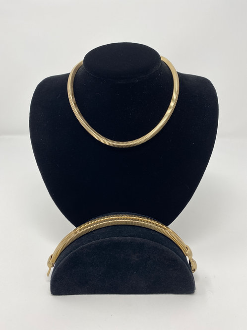 Vintage Coro Necklace and Bracelet Set
