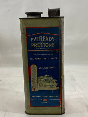 Eveready Prestone Anti-Freeze Tin