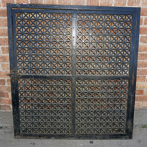 Cast Iron Structural Window