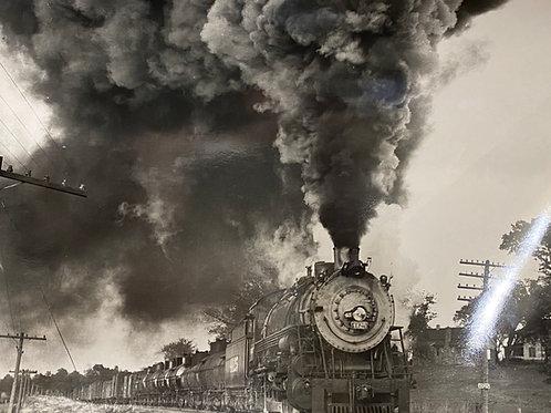1930s Picture of Train #4125 Boston, MA