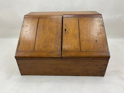 Vintage Wooden Stationary Box