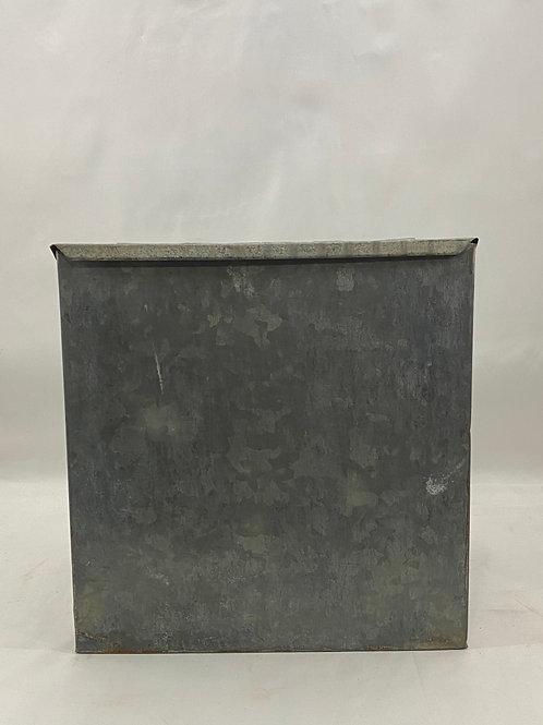 Vintage Acorn Ind Galvanized Cooler