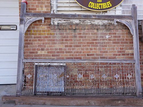 1860s Porch Columns And Railing