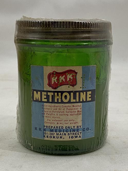 Ca 1905 Metholine KKK Medicine Co Keokuk, IA
