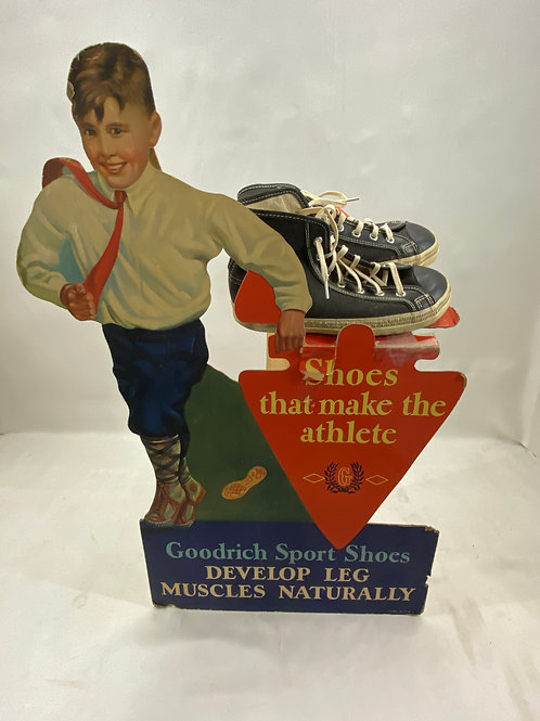 1940s Goodrich Sport Shoes Display