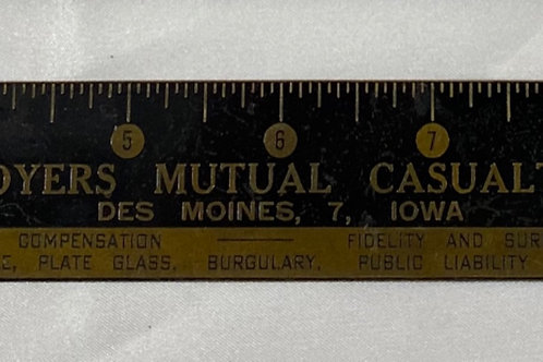 Brass Ruler - Employers Mutual Casualty Co