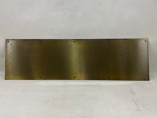 Brass Kick Plate