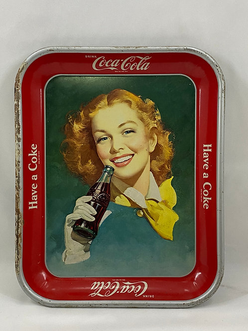 1950s Coca-Cola Tray