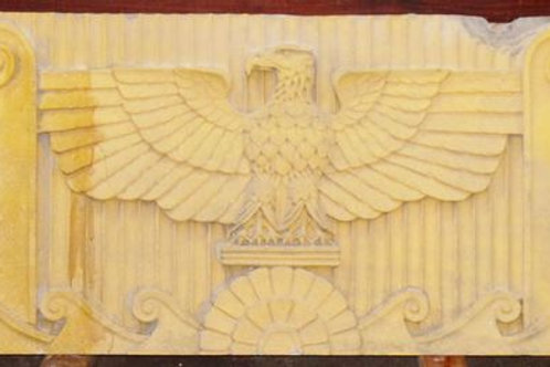 Eagle Hand-Carved Stone