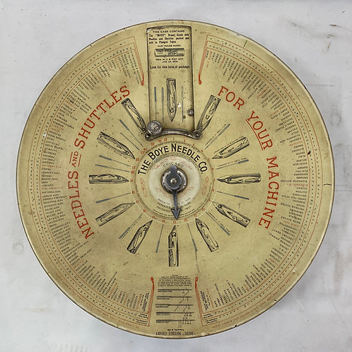 The Boye Needle Co Chicago Spinning Display Store Dispenser