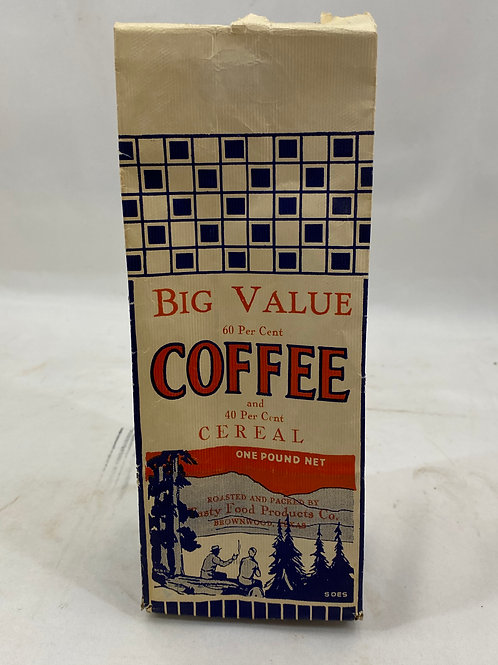 Big Value Coffee Package 1 lb