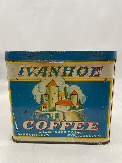 Ivanhoe Coffee Tin