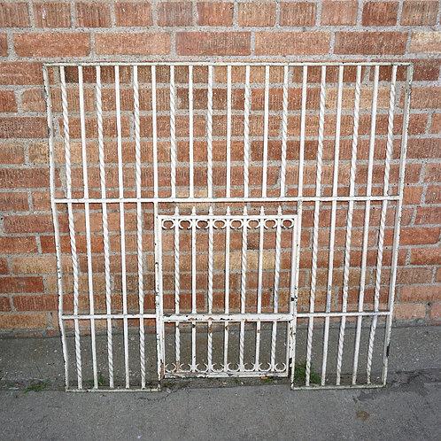 Cast Iron Bank Teller Window