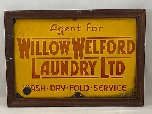 Agent for Willow Welford Laundry LTD Wash - Dry - Fold - Sign