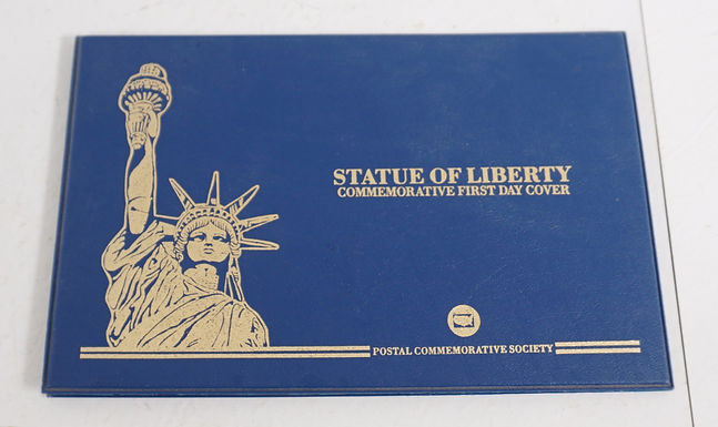1980s Statue Of Liberty First Day Cover - Postal Commemorati