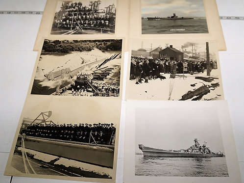 WWII Military Photographs