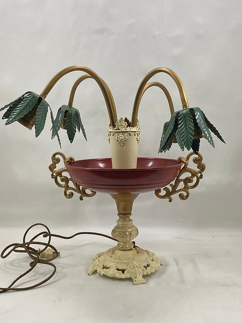 Table Lamp with Four Arms