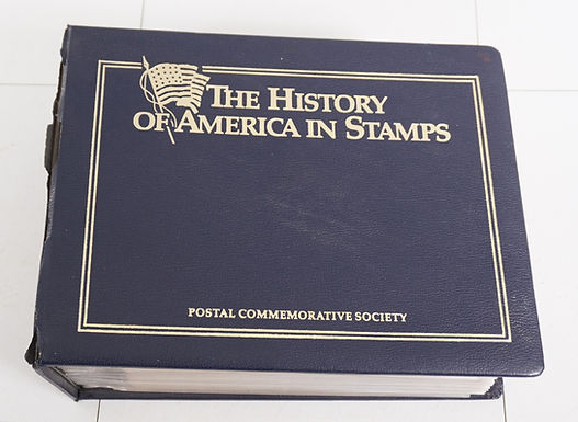 1980s The History Of America In Stamps - Postal Commemorativ
