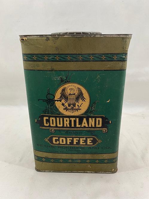Courtland Coffee Sears Roebuck Tin