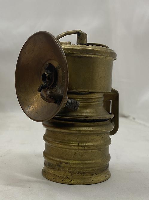 Vintage Miners Headlamp Premier British Made