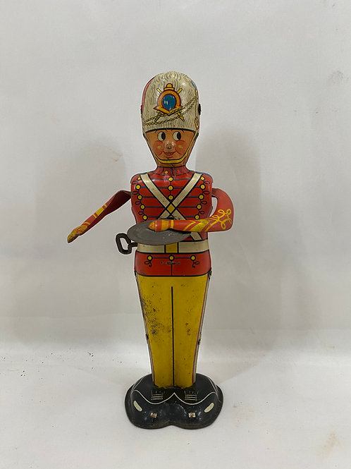1940s George Drummer Boy Tin Wind-Up