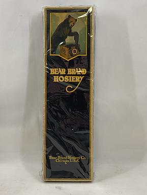 Bear Brand Hosiery Box with Samples