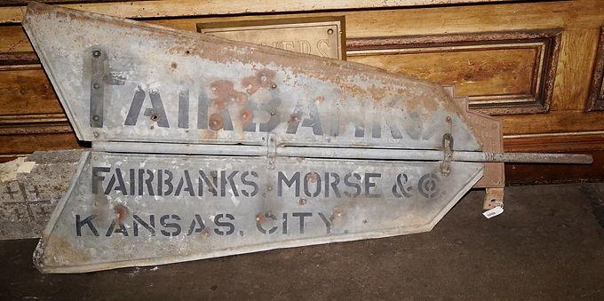 1890s Fairbanks Morse Windmill Tail