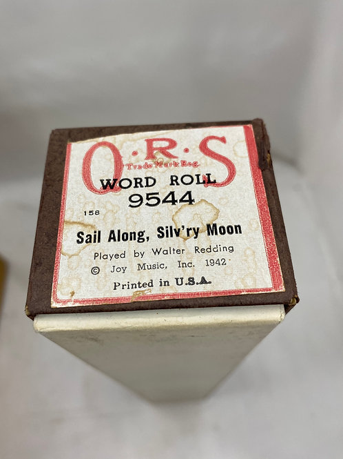 Piano Roll Sail Along, Silv'ry Moon 9544