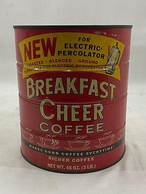 Breakfast Cheer Coffee Tin Bank