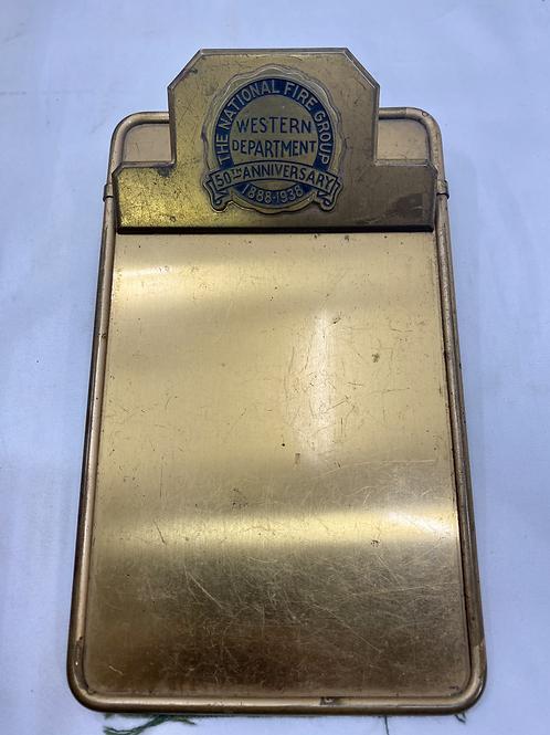 Brass Clipboard