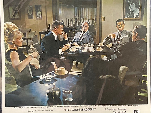 """""""The Carpetbaggers"""" 1964 Movie Poster"""