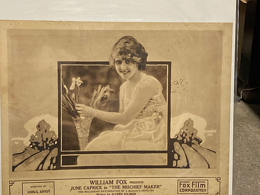 """""""The Mischief Maker"""" 1916 Silent Movie Posters"""