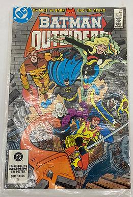 Batman and the Outsiders DC Comics #7