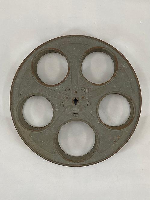 "Vintage Goldberg Bros Dever Colo  Film Reel  9 3/4"" Diameter"