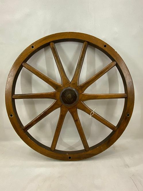 Vintage Decorative Wagon Wheel