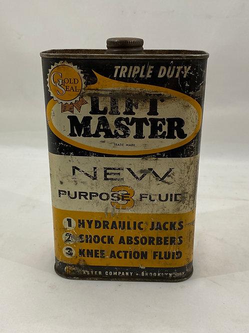 Lift Master Triple Duty Fluid Tin