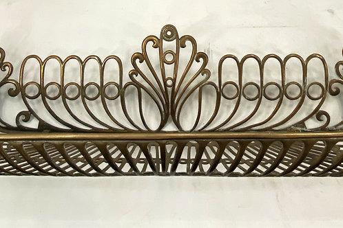 Brass Vanity Shelf