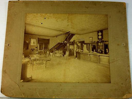 1900s Photo of a Hotel Lobby