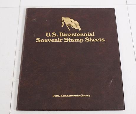1980s U S Bicentennial Souvenir Stamp - Postal Commemorative