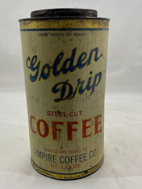 Vintage Empire Coffee Tin