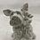 Thumbnail: Vintage Ceramic Dog Bank