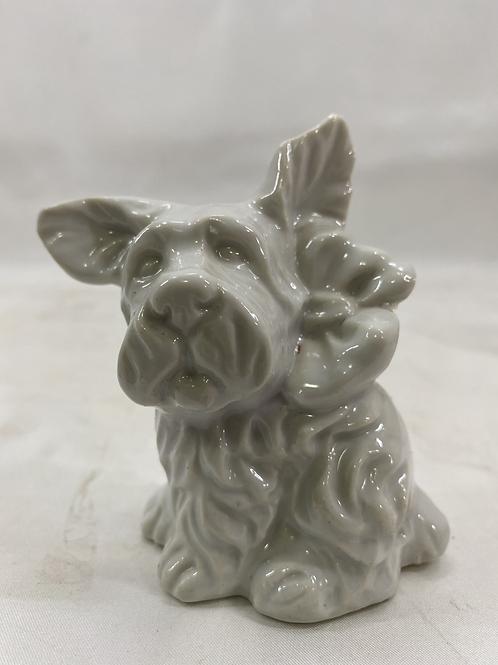 Vintage Ceramic Dog Bank