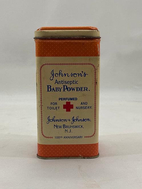 Johnson's Baby Powder Tin