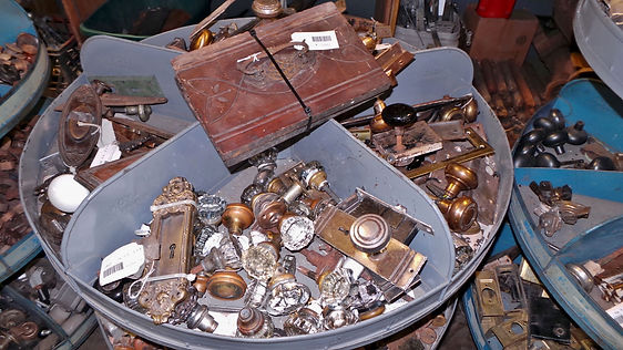 Hardware at Old Town Architectural Salvage