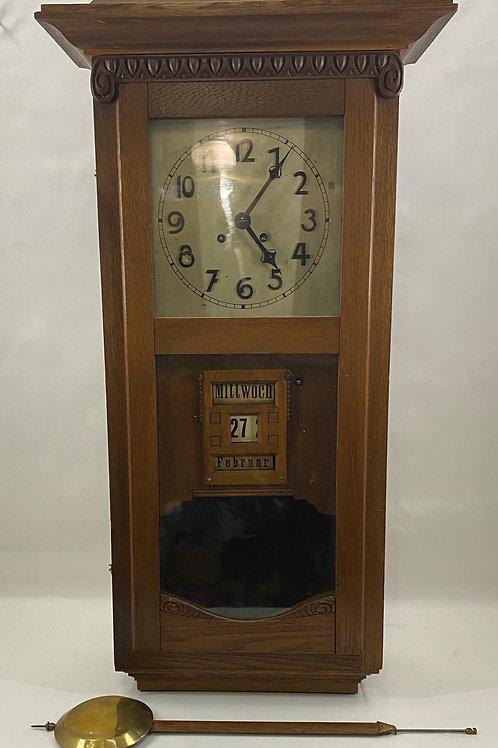Gerson Wintermantel & Company of Germany Wall Clock Ca 1880