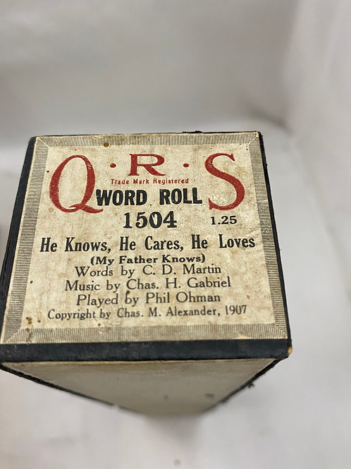 Piano Roll He Knows, He Cares, He Loves 1504